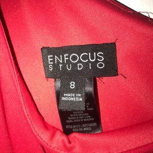 Enfocus Studio Dresses - Red prom/formal/bridesmaid dress